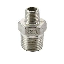 Hexagon Reducing Nipple Male / Male BSPT - Stainless Steel 316 - Biggest Range