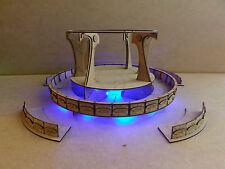Vidente plataforma LED Warhammer 40k/wargame/Infinity edificio/relieve/Productos