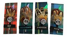 Ronnie Benga Feather Clan Crest Kilt Stick PIN-Hay Henderson Johnstone Keith