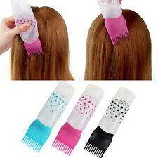 Hair Dye Bottle Shampoo Hair Coloring Dyestuff Applicator Bottle with Comb TeeUS