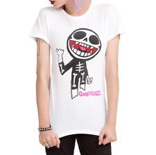 Gorillaz SKELETON Girls Junior T-Shirt NWT Licensed & Official