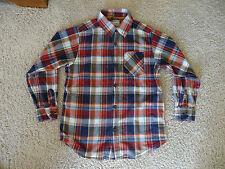 M 7/8 Long Sleeve Plaid Shirt Boys Children's Place