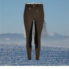 Pikeur Lugana Softshell Kontrast Reithose,Pikeur,Winter, schoko-schwarz