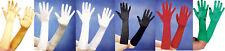 Orl - Satin-Handschuhe 40cm zum Kostüm Karneval Fasching Halloween