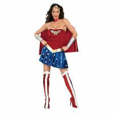 Wonder Woman Fancy Dress Costume American Women's Superhero