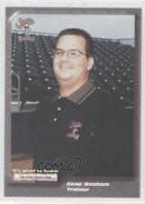 2001 The Palm Beach Post Jupiter Hammerheads 35 Gene Basham Rookie Baseball Card