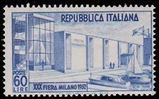 REPUBBLICA 1952 - FIERA DI MILANO n. 685 INTEGRO.  € 70