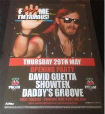 David Guetta FMIF @ Pacha-Ibiza Club Poster - 2012/2013/2014 DJ EDM Musik