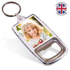 Premium Blank Acrylic Bottle Opener Keyrings Key Fobs 45 x 35 mm | Passport Size