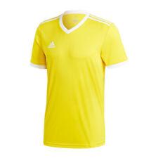 Adidas Tabela 18 Maillot manches courtes jaune blanc
