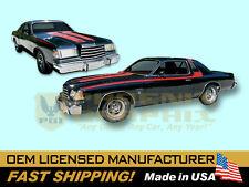 1978 1979 Dodge Magnum GT Decals & Stripes Kit