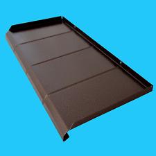 Aluminium Fensterbank mit Struktur -Antik Kupfer- Ausladung bis 450mm; ALU 1,2mm