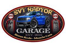 2010-14 Ford SVT Raptor F150 Pickup Truck Garage Sign Wall Art Graphic Sticker