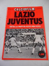 13 - CALCIOFILM ANNO I N. 3 1972 (LAZIO JUVENTUS)