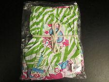 Mud Pie Green Zebra Print Ruffled Pajama Boxers, Small or Medium,, NWT