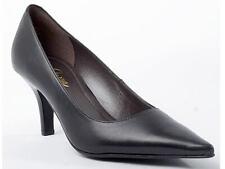 Damenschuhe Pumps Piazza Leder Schuhe schwarz Gr.37-42
