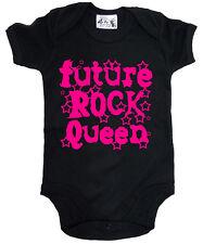 """Bebé Roca Body"""" Futuro Roca QUEEN """" Bebé Chaleco Crecimiento Música Rock"""