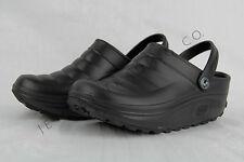 ANYWEAR POINT BLACK CLOGS UNISEX MEDICAL NURSING SHOES  Sizes 5 - 11