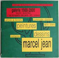 Marcel Jean-Arbre à Tiroirs, Commode-Domino, Table-Piano, Peintures, Dessins...