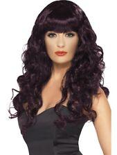 SALE Wigs 50% OFF - Smiffy's Ladies Plum Siren Wig