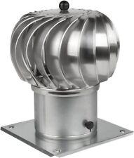 "Rotary Chimney Cowl Cap   Aluminium Chimney Steel Roof Spinner Top 6"" 8"" 150 mm"