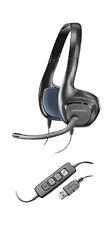 Plantronics .Audio 628 DSP Binaural Black Headband Headset New One in sealed Box