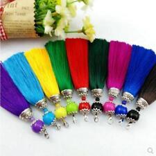 V12 (1,10 pcs) 10cm Long tassel Ball (use for earring bookmark runner dress)