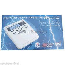 Midland Weather Alert Radio - Hurricanes, Tornado