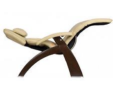 Dark Walnut Leather PC-610 Omni-Motion Human Touch Zero Gravity Perfect Chair