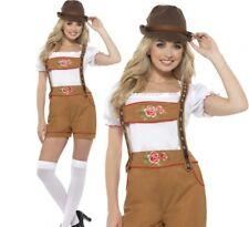 Sexy Bavarian Beer Girl Maid German Womens Oktoberfest Adult Fancy Dress UK 8-18