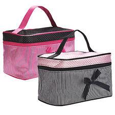 Women Cosmetic Makeup Travel Toiletry Bag Case Wash Organizers Holder Handbag UK