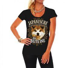 Frauen T-Shirt Akita Inu Japanischer Dogs Rasse Begleithunde Schutzhund jagdhund