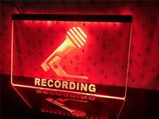 RECORDING Neon LED Display Light Sign Radio DJ QUALITY On Air Live Studio Bar