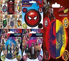 New Marvel Vinyl Stickers Pack Dead Pool Thor Spider-man Iron man Hulk Cap A UK