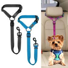 Safety Dog Car Seat Belt Clip Harness Restraint Lead Reflective Adjustable Leash