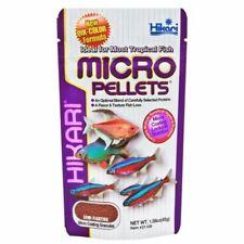 Hikari Micro Pellets Small Fish Tank Granule Floating Aquarium Food Tetras Barbs