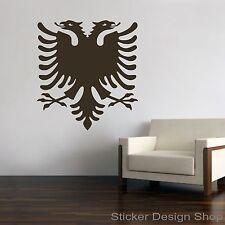 Albanien Albania Albanischer Adler Wandtattoo Wandsticker Aufkleber Sticker Neu