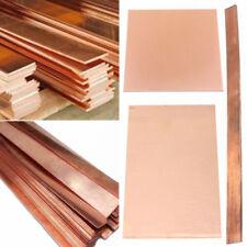 99.9%  Purple Copper Cu Metal Sheet Plate Strip Thickness 0.2/0.5/1/1.5/2/3mm