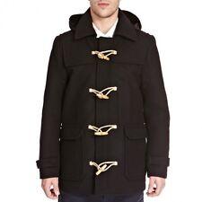 Feraud Black Hooded Wool Winter Duffle Parka Jacket Coat S M L XL BNWT RRP £475