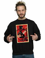 Marvel Men's Spider-Woman Fight Sweatshirt