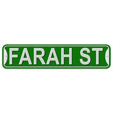 Plastic Wall Door Street Road Sign Names Female Fa-Fl