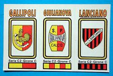 FIGURINA CALCIATORI PANINI 1978/79 SCUDETTO -SERIE-C2 n.575 NUOVA
