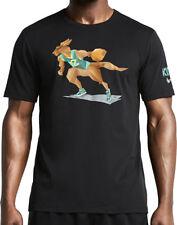 Nike Kyrie Irving x Naturel Boomer Geometric Kangaroo Dri-Fit Cotton T-Shirt NEW