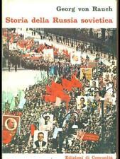 STORIA DELLA RUSSIA SOVIETICA  GEORG VON RAUCH EDIZIONI DI COMUNITA' 1965
