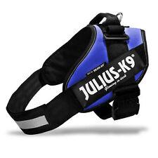 JULIUS-K9 pettorina cane IDC-Powerharness blu con maniglia rifrangente 16IDC-B