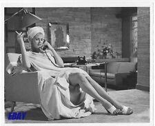 Anita Ekberg leggy w/cig VINTAGE Photo Hollywood Or Bust