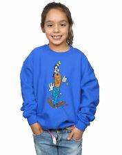 Disney Girls Goofy Christmas Lights Sweatshirt