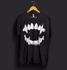 Jaws T Shirt Halloween Vampire Nosferatu Beast Monster Fangs Krueger Freddy