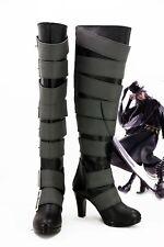 Anime Black Butler Kuroshitsuji Undertaker Cosplay Boots Shoes For Christmas HH