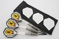 25g 27g 32g Tungsten darts set, John Lowe type, Dart flights, stems & case